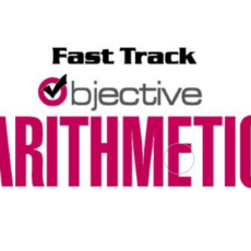 Complete Fast Track Objective Math In English Book