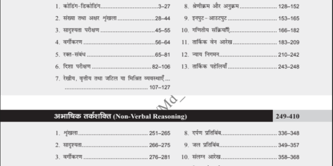 Reasoning Questions In Hindi